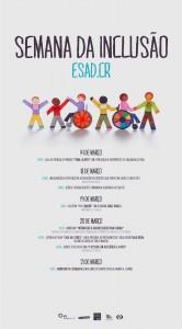 cartaz semana inclusiva